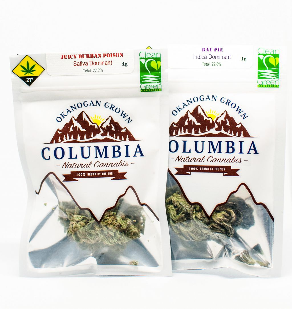 Columbia cannabis